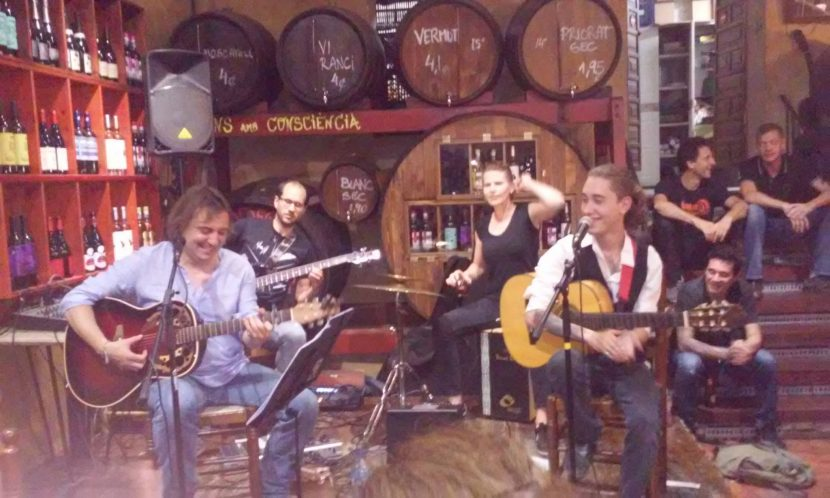 Flam and Co en la Bodega de Vallcarca